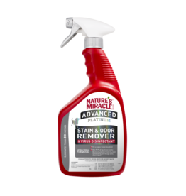 Natures Miracle Dog Advanced Platinum Stain Odour & Virus Disinfect 32 oz