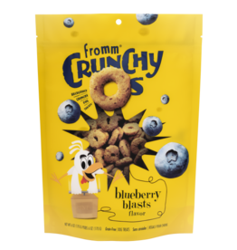 Fromm Dog Crunchy Os GF Blueberry Blasts Treats 6 oz