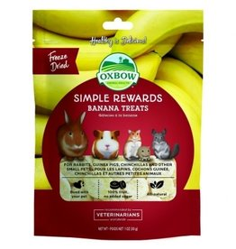 Oxbow Simple Rewards Banana Treats 28.4g