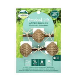 Oxbow Enriched Life Apple Rounds Natural Chews