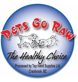 Pets Go Raw Beef/Turkey Blend Full Meal 8 x 1/2lb Patties