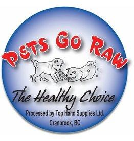 Pets Go Raw Turkey Full Meal 25lb (Approx. 50 Patties)