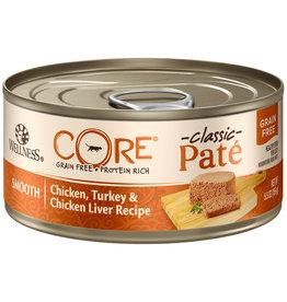Wellness Core Pate Chicken, Turkey & Liver 5.5OZ / Cat single