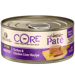 Wellness Core Pate Turkey & Chicken Liver Kitten 5.5OZ