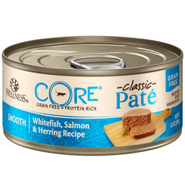 Wellness Core Pate Salmon, Whitefish & Herring 5.5OZ | Cat single