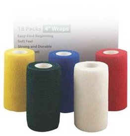 "FlexWrap EZ Tear 4"" Asst single"