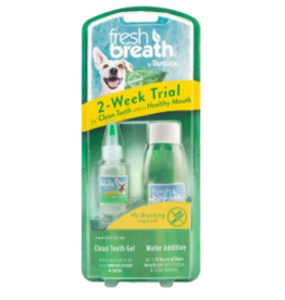 TropiClean Fresh Breath 2-Week Trail kit