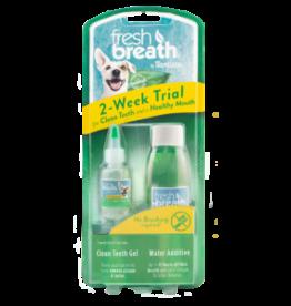 TropiClean Fresh Breath 2-Week Trial kit