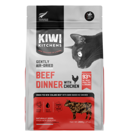 Kiwi Kitchens Gently Air Dried Beef & Chicken 200GM |Cat