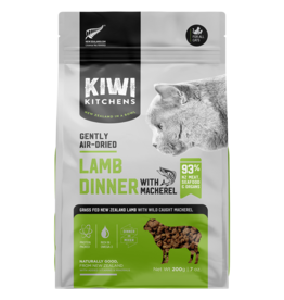 Kiwi Kitchens Gently Air Dried Lamb & Mackerel 200GM |Cat