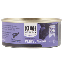 Kiwi Kitchens Grass Fed 93% Venison | Cat single 85GM