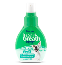 TropiClean Fresh Breath Water Drops 2.2 oz