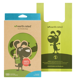 Earth Rated Unscented Easy-Tie Handle Bags | 120 Bags