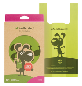 Earth Rated Scented Easy-Tie Handle BagsLavender|120 Bags