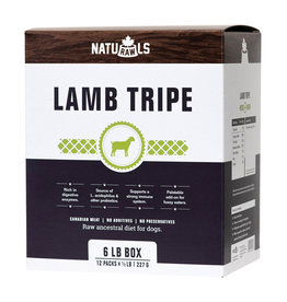 Naturawls Frozen - Raw Lamb Tripe 12/227GM