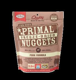 Primal Dog - Freeze Dried Pork 5.5 oz