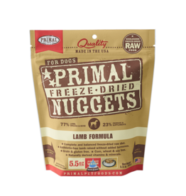 Primal Dog - Freeze Dried Lamb 5.5 oz