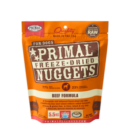 Primal Dog - Freeze Dried Beef 5.5 oz