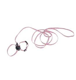 "Coastal Pet Products Li'l Pals Kitten Adj Harness 10"" and 6' Leash Combo"