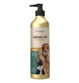 NaturVet Salmon Oil Unscented