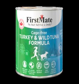 FirstMate Dog GF 50/50 Cage Free Turkey/Wild Tuna 12.2 oz single