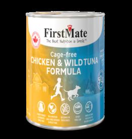 FirstMate Dog GF 50/50 Cage Free Chicken/Wild Tuna 12.2 oz single