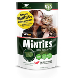 Minties Minties Cat Dental Treats Salmon 2.5 oz