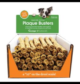 """Crumps' Naturals Dog Plaque Busters 7"""" Bulk"""