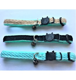 4 Paws Market Breakaway Hemp Cat Collar with Bell