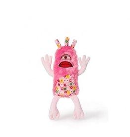"Budz Dog Toy Plush Monster ""IGOR"" Floral Pattern 12''"