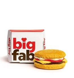 fab dog inc. Cheeseburger Super-Squeaker Toy