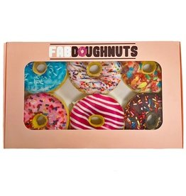 fab dog inc. Box of 6 Doughnuts Plush Toy