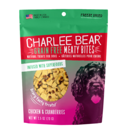 Charlee Bear Meaty Bites Chicken with Cranberries 2.5oz