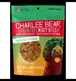 Charlee Bear GF Meaty Bites Beef Liver & Sweet Potatoes