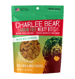 Charlee Bear Meaty Bites Beef liver with Sweet Potato 2.5oz