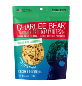 Charlee Bear Meaty Bites Chicken with Blueberries 2.5oz