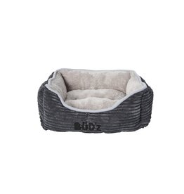 Budz Dog Cuddler Corduroy 18''X16'' GRAY