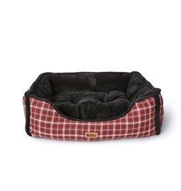 Budz Dog Cuddler 24''X20'' RED/BLACK