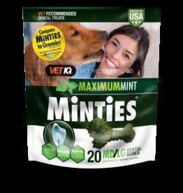 Minties Minties Maximum Mint Dental Bones MD/LG 16 oz 20 ct