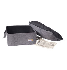 """k&h pet products Thermo Basket Bed Gray 15x15"""" 4 Watt"""