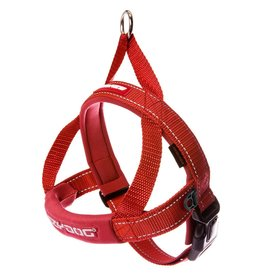 EzyDog Quick Fit Harness Red XLarge