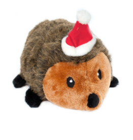 ZippyPaws Holiday Plush Hedgehog Extra Large