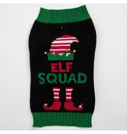 Silver Paw Sweater - Elf