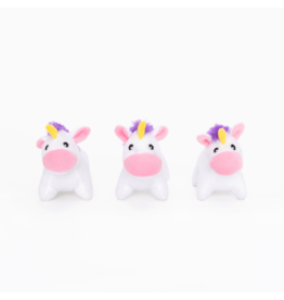 ZippyPaws Miniz Unicorns 3 pc