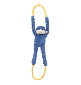 ZippyPaws RopeTugz Monkey Blue