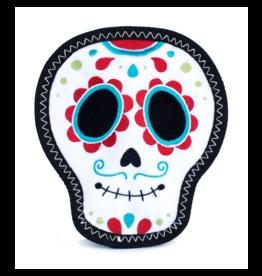 ZippyPaws Z-Stitch Squeaker Toy Santiago the Sugar Skull