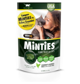Minties Cat Dental Treats Chicken 2.5 oz