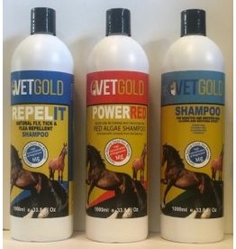 Vet Gold Power Red Shampoo