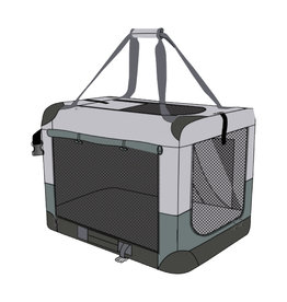 Baxter & Bella Soft Crate Dog - Lg 40x27x27in