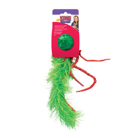 Kong Holiday Cat Confetti Feathers